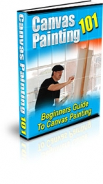 Canvas Painting 101 eBook with private label rights