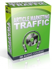 Article Marketing For Traffic Audio with private label rights