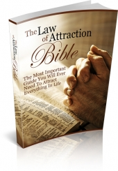 The Law Of Attraction Bible eBook with private label rights