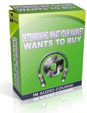 Determining What Your Market Wants To Buy Audio with Private Label Rights