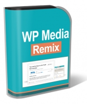 WP Media Remix Plugin Software with Personal Use Rights