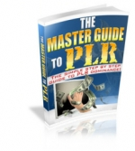 The Master Guide To PLR eBook with private label rights