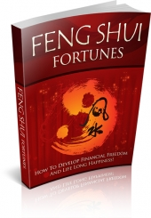 Feng Shui Fortunes eBook with private label rights
