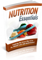 Nutrition Essentials eBook with private label rights