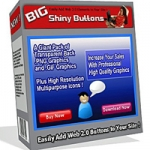 Big Shiny Buttons Graphic with Master Resale Rights