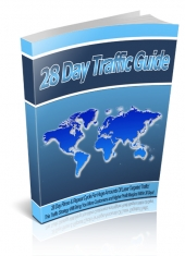 28 Day Traffic Guide eBook with Personal Use Rights