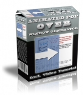 Animated Pop Over Window Generator Software with Master Resell Rights