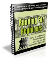 Running for Beginners eBook with Private Label Rights