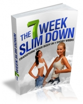 7 Week Slim Down eBook with private label rights