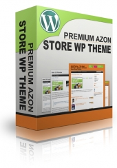 Premium Azon Store WP Theme Template with Master Resell Rights