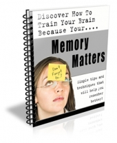 Memory Matters eBook with Private Label Rights