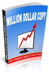 Million Dollar Copy eBook with Resale Rights