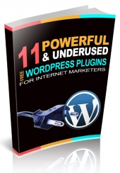 11 Powerful Wordpress Plugins For Internet Marketers eBook with Master Resale Rights