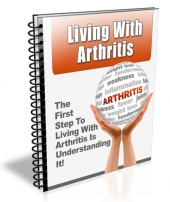 Living With Arthritis eBook with private label rights