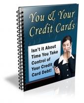 You & Your Credit Cards eBook with private label rights