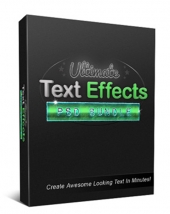 Ultimate Text Effects PSD Bundle Software with private label rights