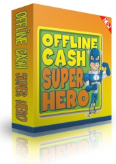 Offline Cash Super Hero eBook with Personal Use Rights