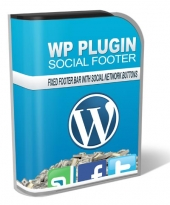 WP Social Footer Software with Master Resale Rights
