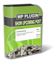 Show Upcoming Posts Plugin Software with Master Resale Rights