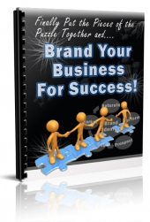 Brand Your Business For Success eBook with Private Label Rights