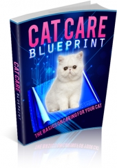 Cat Care Blueprint eBook with private label rights