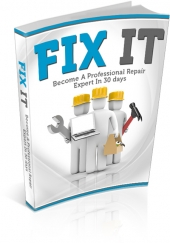Fix It eBook with private label rights