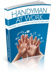 Handyman At Work eBook with private label rights