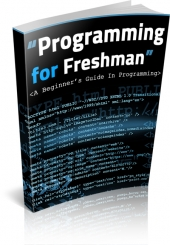 Programming for Freshman eBook with private label rights