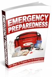 Emergency Preparedness eBook with private label rights