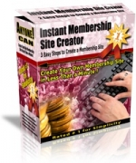 Instant Membership Site Creator Version 3.2 Software with Master Resale Rights