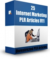 25 Internet Marketing PLR Articles V11 Gold Article with