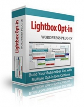 Lightbox Popup Opt-in Plugin Software with private label rights