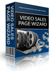 Video Sales Page Wizard Software with Personal Use Rights