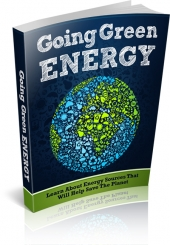 Going Green Energy eBook with private label rights