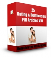 Dating & Relationship PLR Articles V10 Gold Article with Private Label Rights