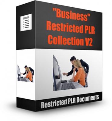 Business Restricted PLR Collection V2