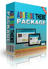 Adsense Premium WordPress Theme Package Template with Personal Use Rights