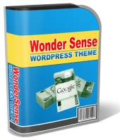 WonderSense Wordpress Theme Template with Personal Use Rights