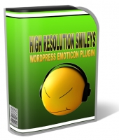 High Resolution Smileys Plugin Graphic with Personal Use Rights