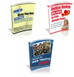 3 PLR eBooks With Unrestricted PLR eBook with Private Label Rights