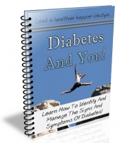 Diabetes and You eBook with private label rights