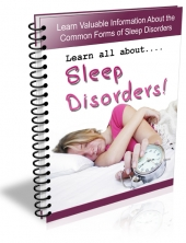 Sleep Disorders 2013 eBook with private label rights