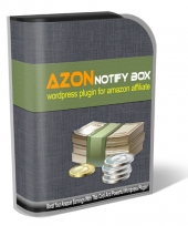 Azon Notify Box Wordpress Plugin Software with Personal Use Rights