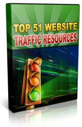 51 Top Traffic Resources Video with Master Resale Rights