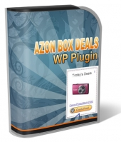 Azon Box Deals WP Plugin Software with Personal Use Rights