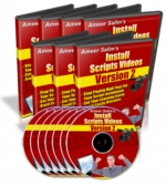 Install Scripts Videos : Version 2 Video with Master Resale Rights