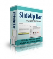 SlideUp Bar Plugin Software with Personal Use Rights