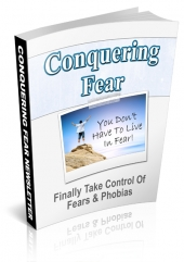Conquering Fear Newsletter eBook with private label rights