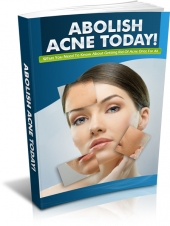 Abolish Acne eBook with private label rights