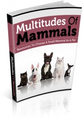 Multitudes Of Mammals eBook with private label rights